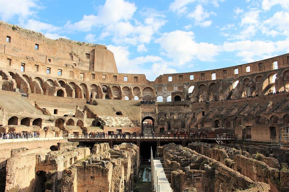 Colosseum, Rome, Italy, History, Travel, Tourism, Roman