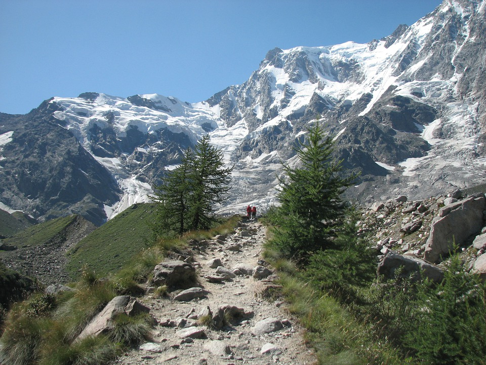 Monte Rosa, Italy, Mountain, Trekking, Nature, Hiking