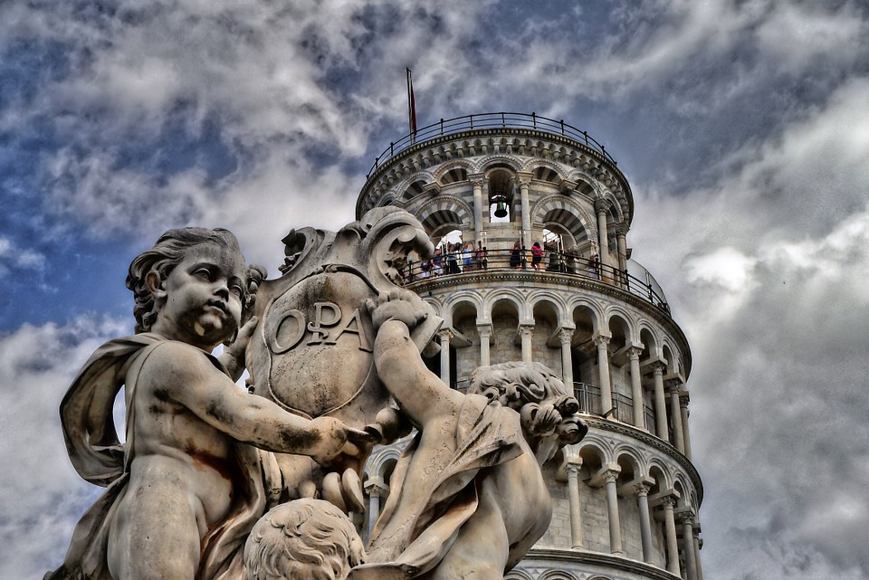 Pisa, Leaning Tower, Tuscany, Italy