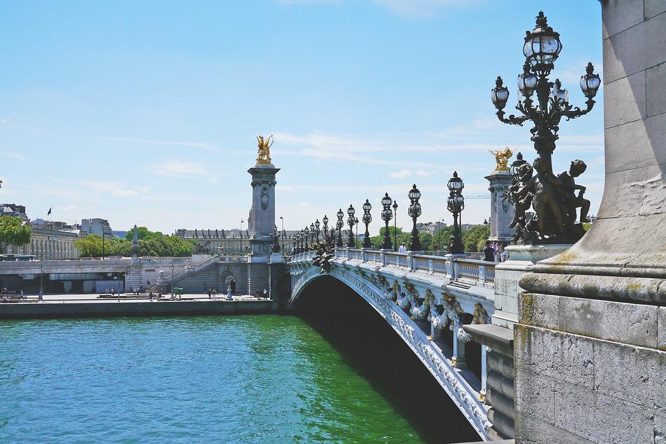 Its, Paris, River, Bridge, France, Water, City