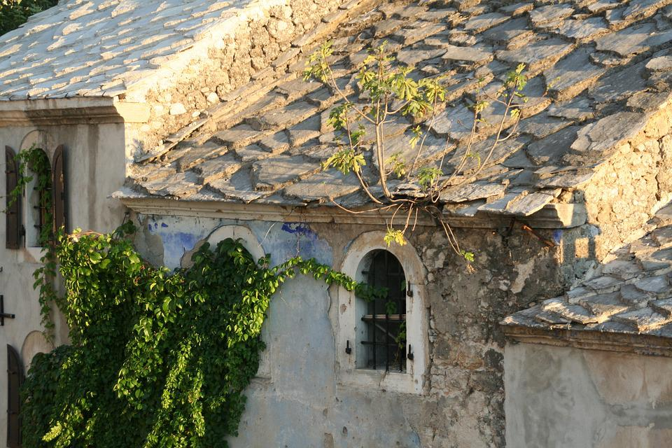 Old Town, Ivy, Stone, Mostar