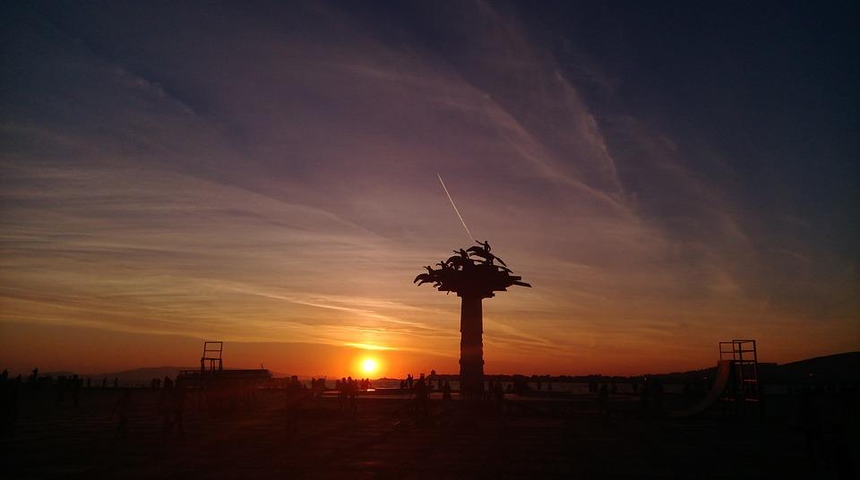 Izmir, Solar, Ege, Turkey, Landscape, Sunset, Peace