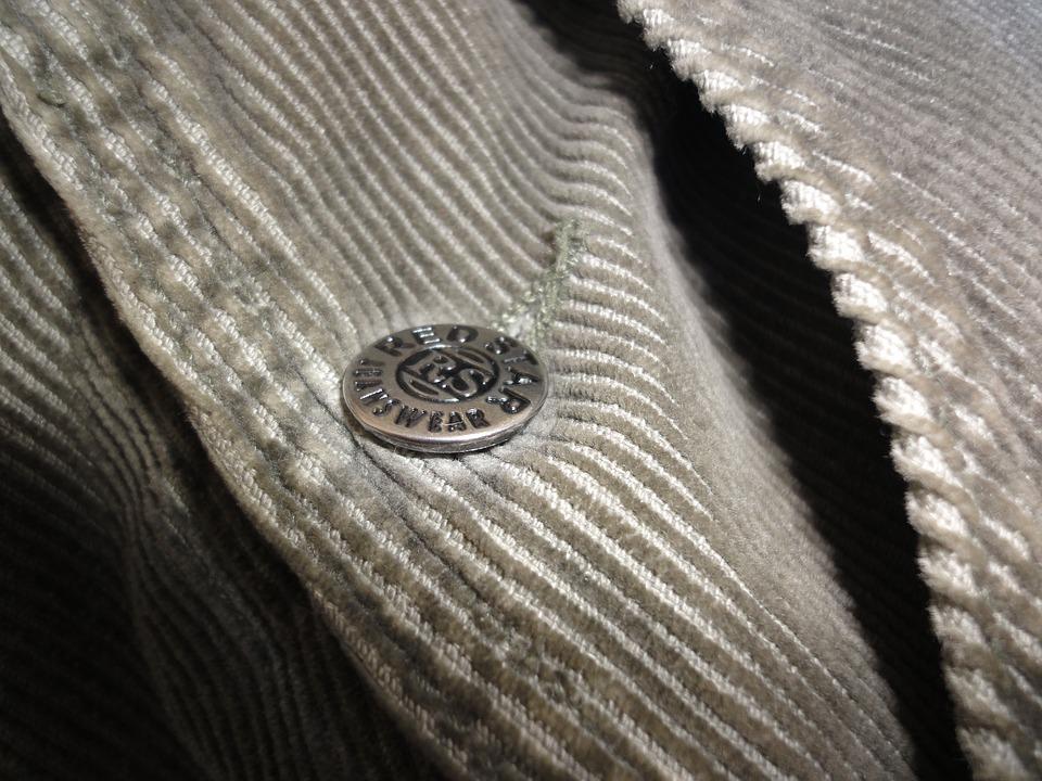 Knob, Jacket, Detail, Dark