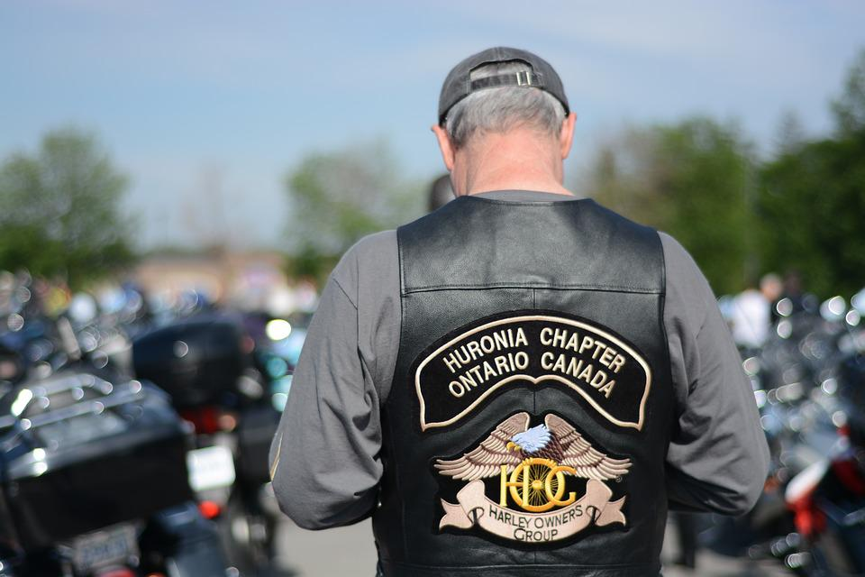 Biker, Jacket, Veteran, Bike, Motorcyclist, Motorbike