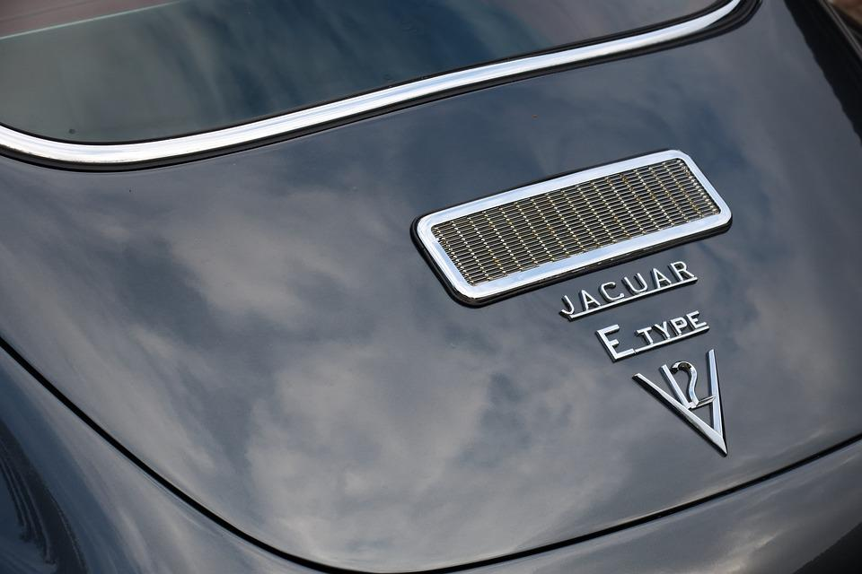 Jaguar, E Type, Rear, Classic, Auto, Vehicle, Luxury