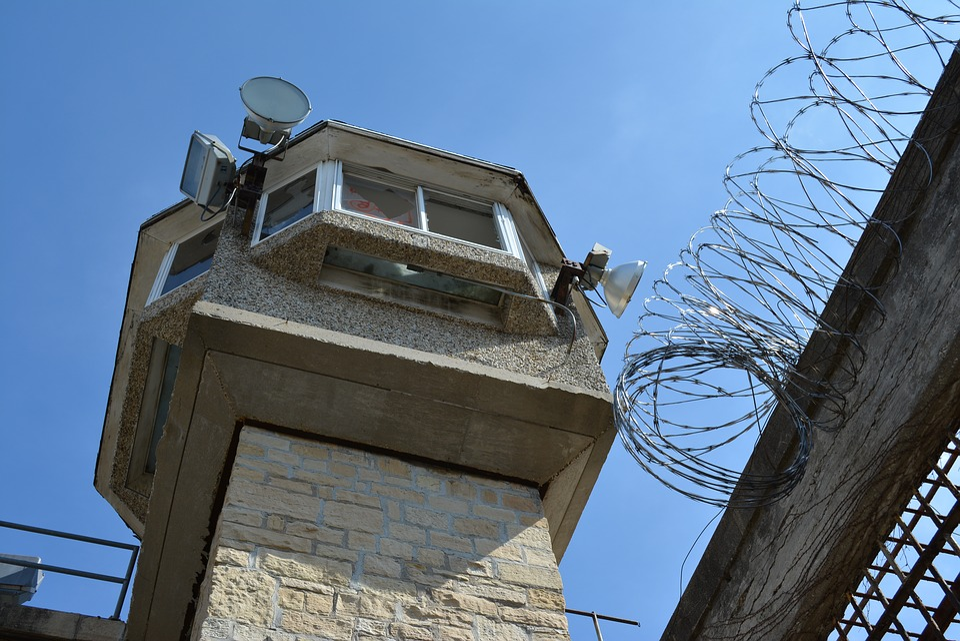 Guard Tower, Prison, Jail