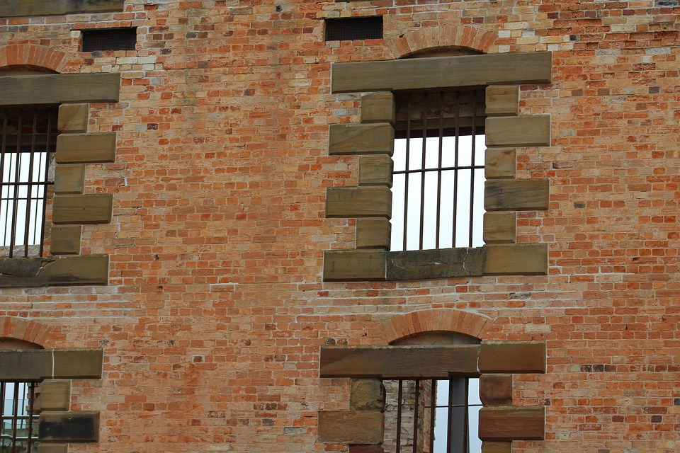 Prison, Ruins, Jail, Brick Wall, Historic