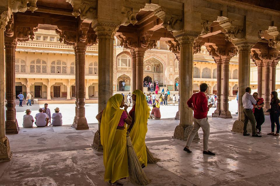 India, Jaipur, Amber Fort, Fortress, Antique