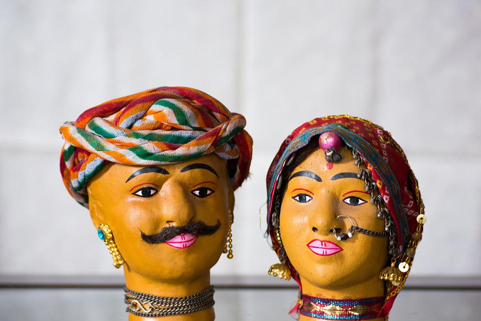 Free Photo Jaipur Traditional India Doll Rajasthan Handicraft Max