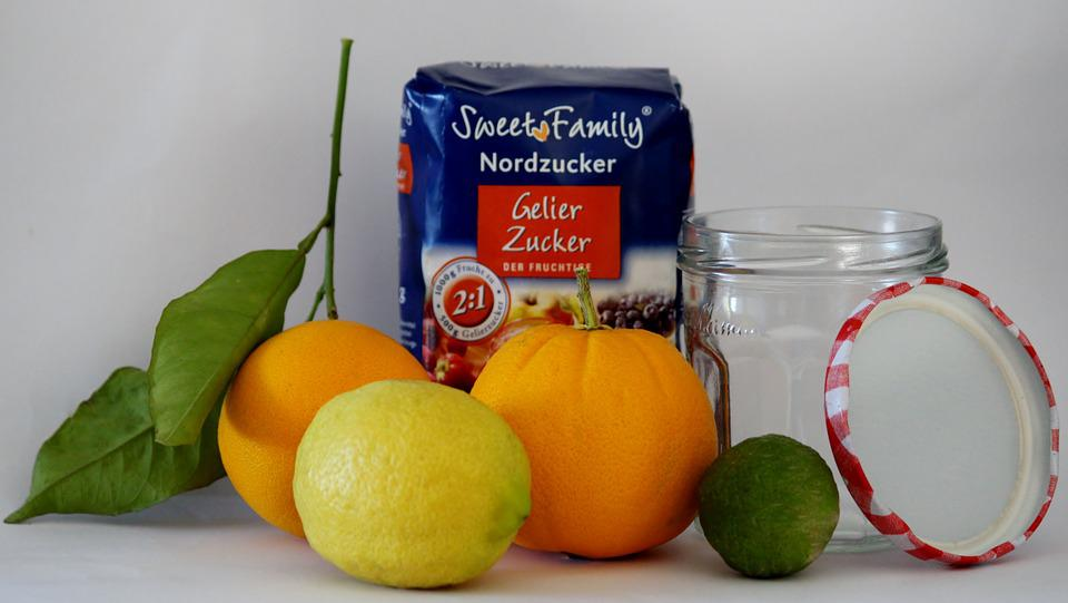 Jam, Cook, Gelling Sugar, Fruits, Make A, Orange, Lemon