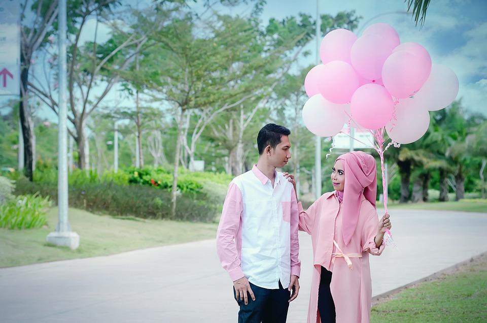 Pair, Romantic, Both, Pink, Jambi City Photographers