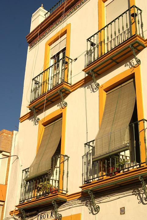 Seville, Spain, Window, Janela, Sun
