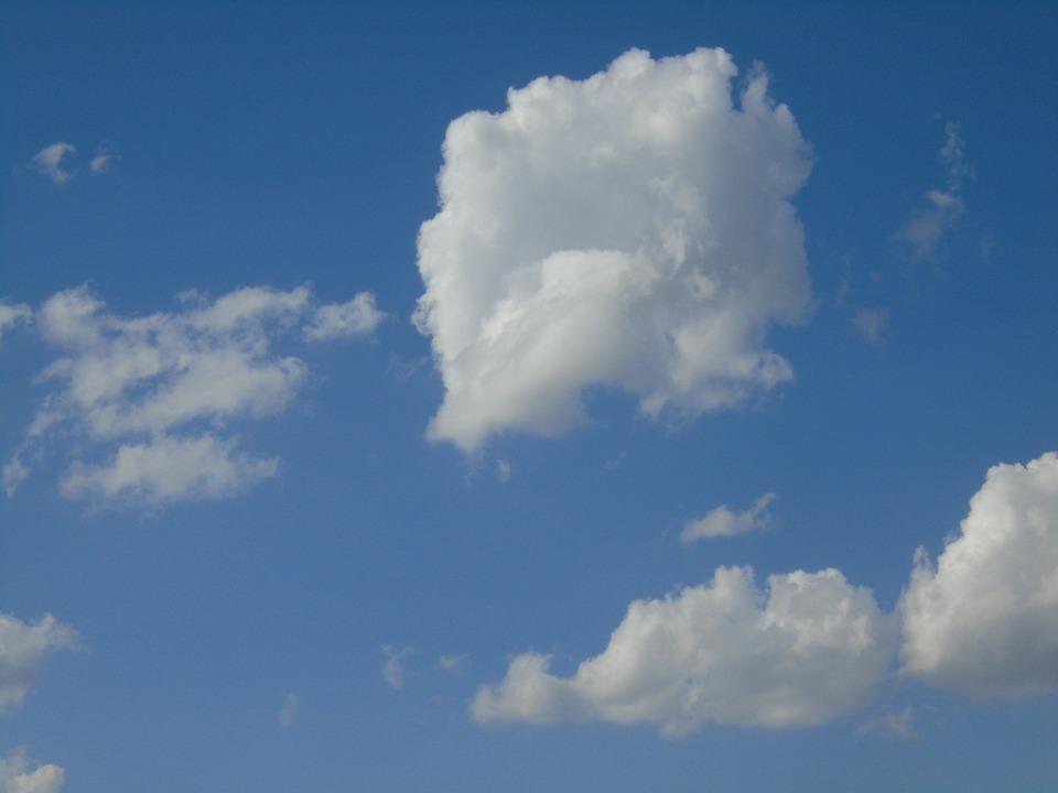Cloud, Sky, White, Blue, January, Nature, Days