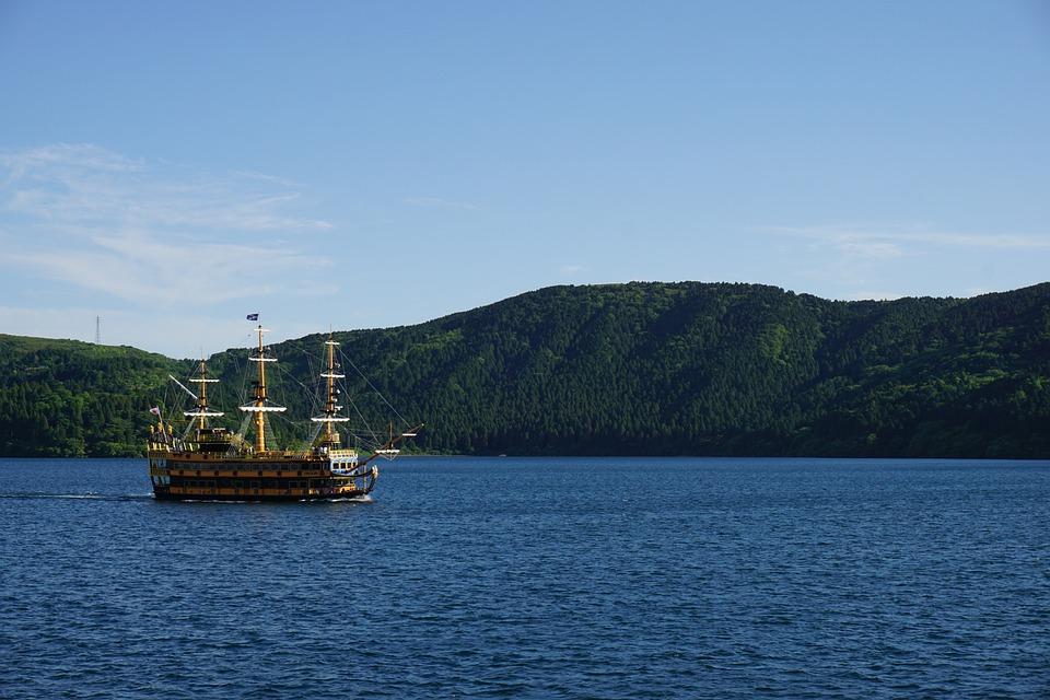 Hakone, Pirate Boat, Japan, Lake, Boat, Japanese, Ship