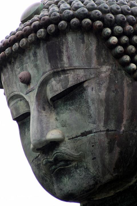 Japan, Kamakura, Buddha