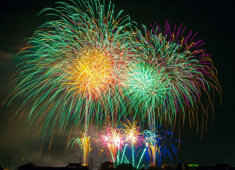 Fireworks, Light, Japan, Festival, Sky, Beautiful