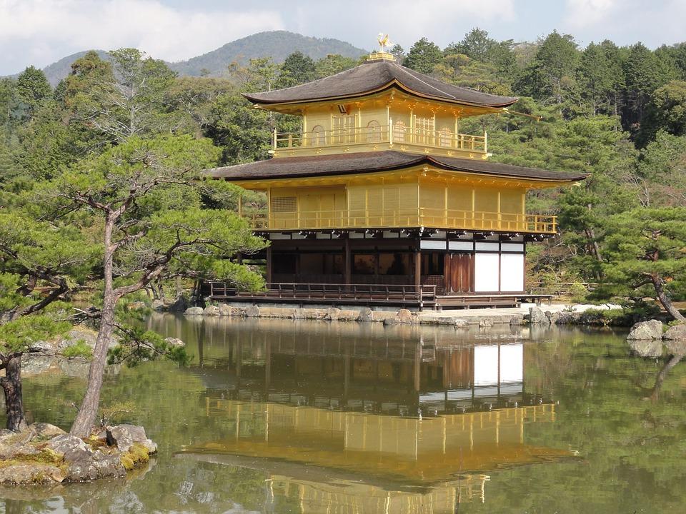 Kinkakuji, Temple, Japan