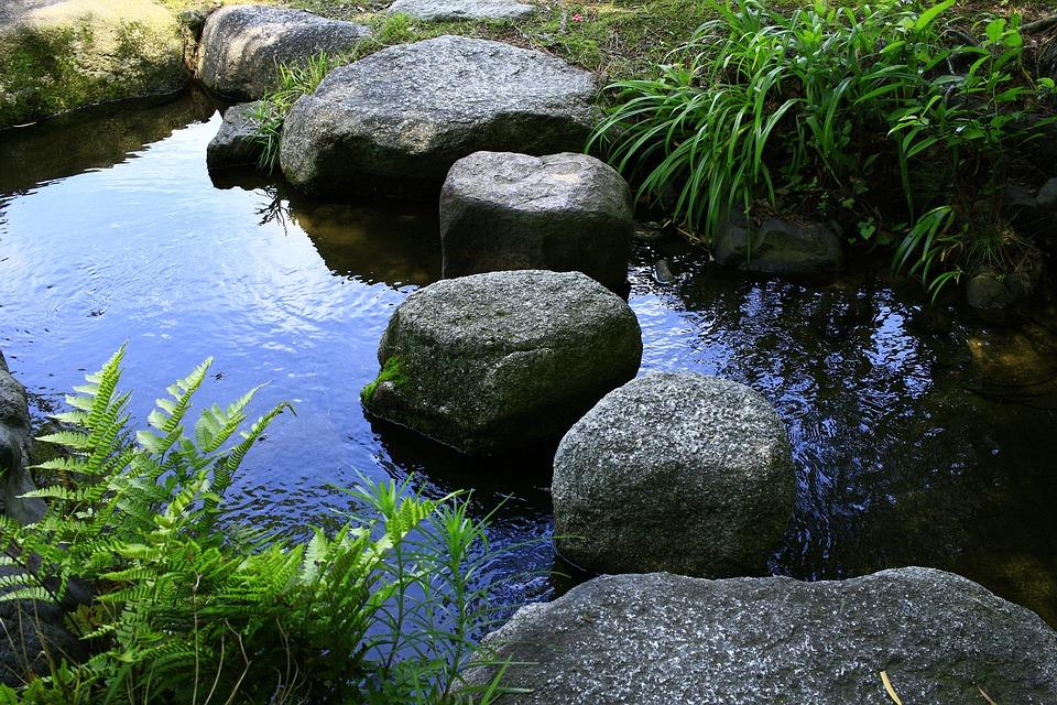 Triple, Kuwana, Japan, Garden, Japan Garden