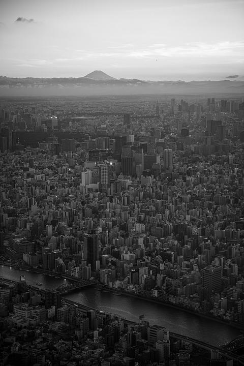 Japan, Tokyo, Skytree, Tower, Landmark, Urban