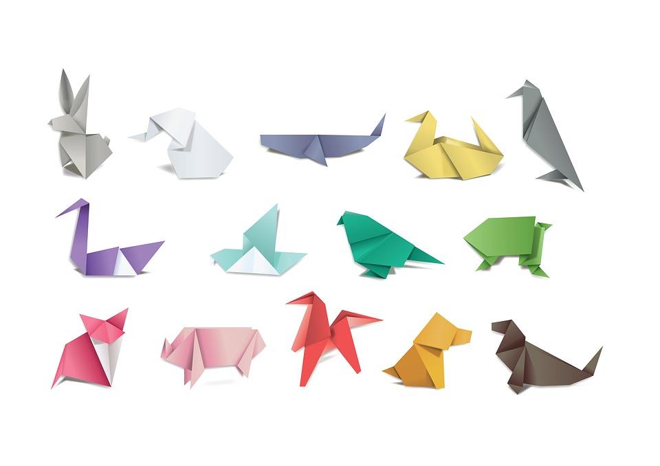 Origami, Paper, Folding, Japan, Hobby, Craft, Animals