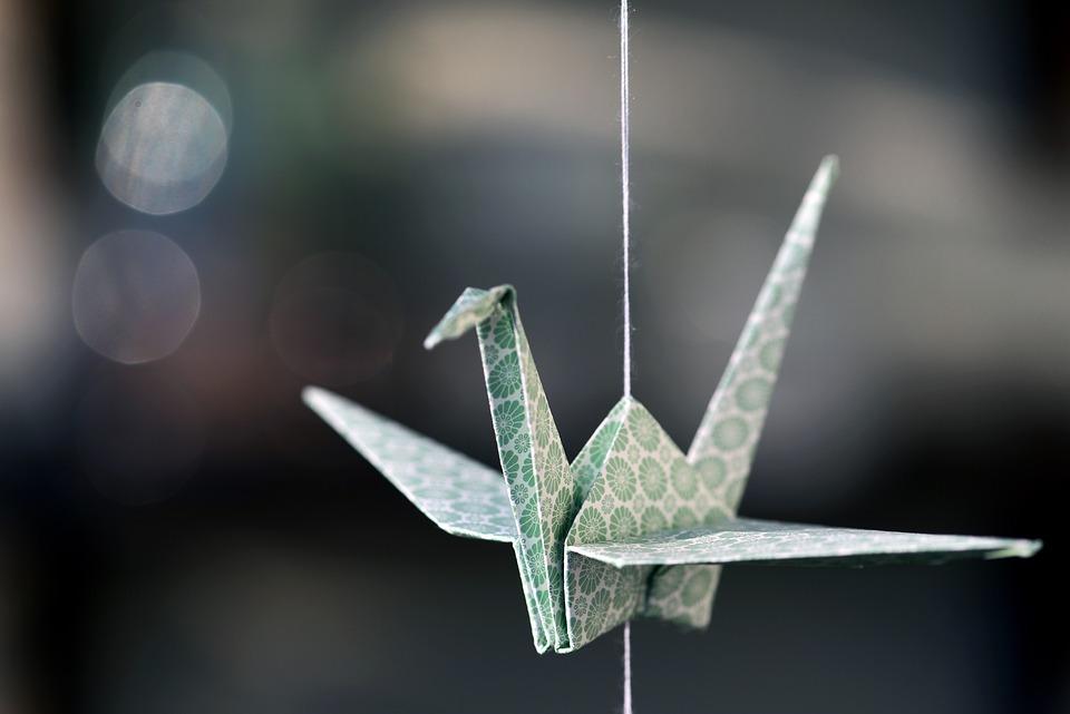 Origami, Crane, Paper, Japan, Fold, Handmade