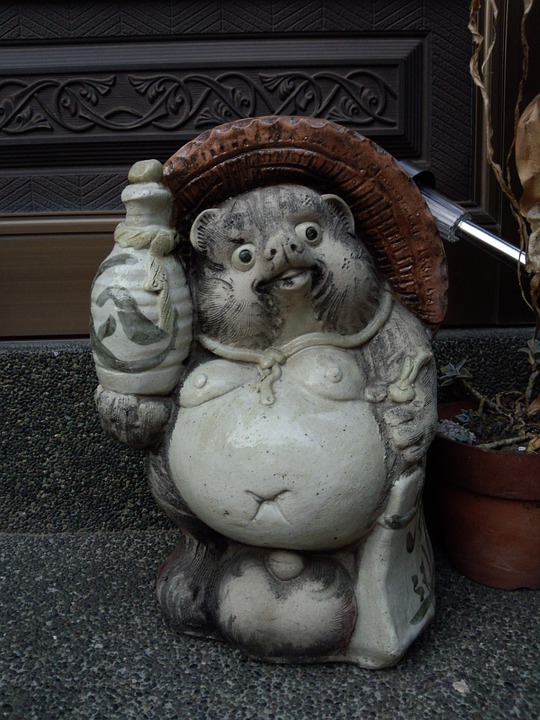 Pom, Figurine, Statue, Interior, Asia, Japan