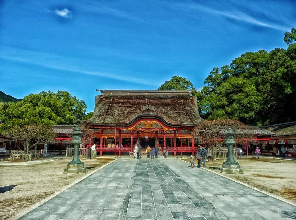 Japan, Temple, Faith, Religion, Prayer, Worship, Hdr