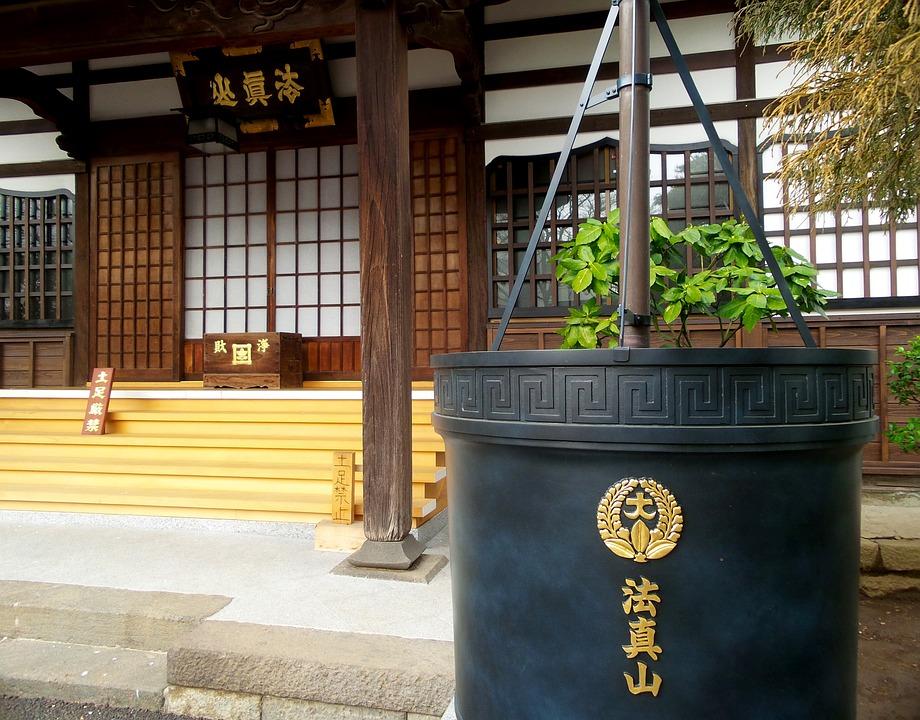 Japan, Tokyo, Temple