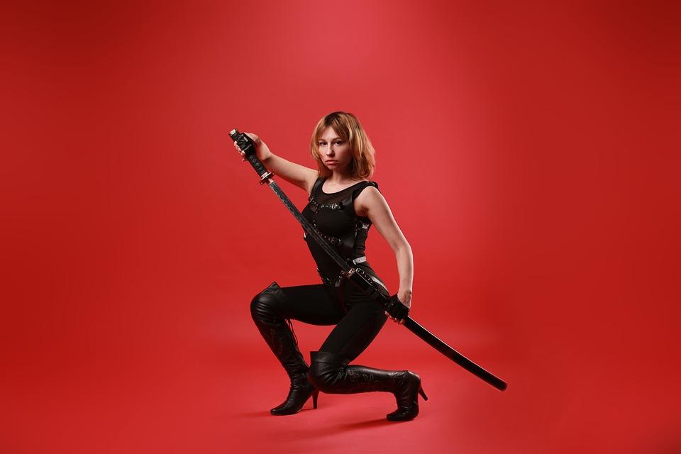 Katana, Sword, Samurai, Ninja, Warrior, Weapons, Japan