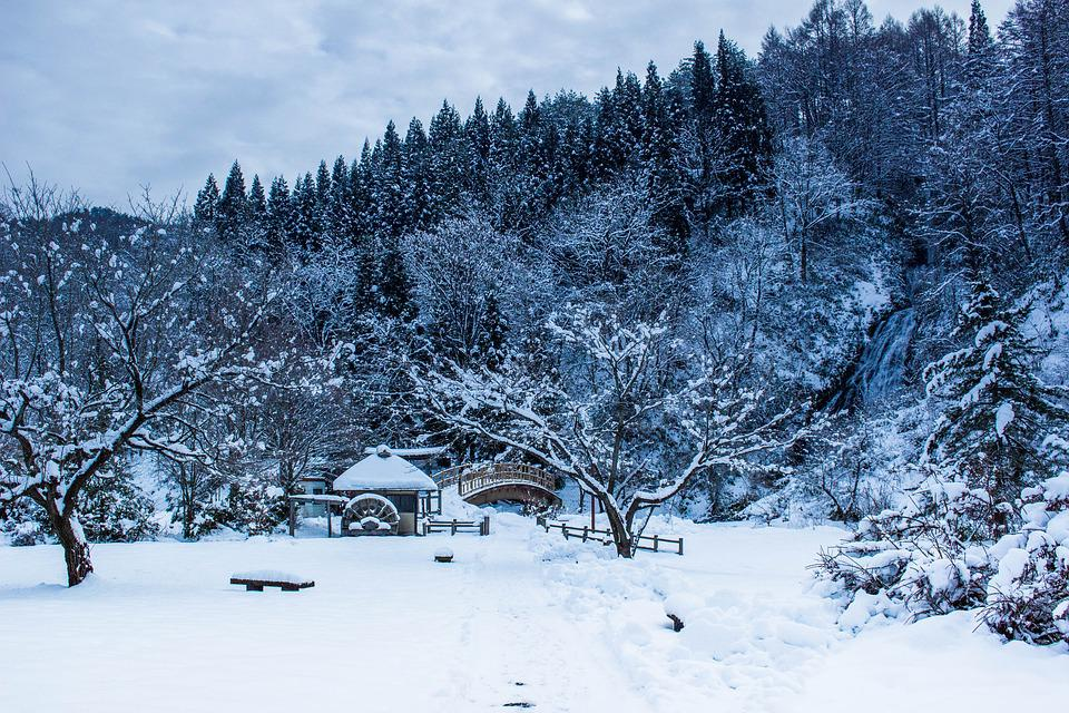 Japan, Winter, The Four Seasons, Snow, Heavy Snow
