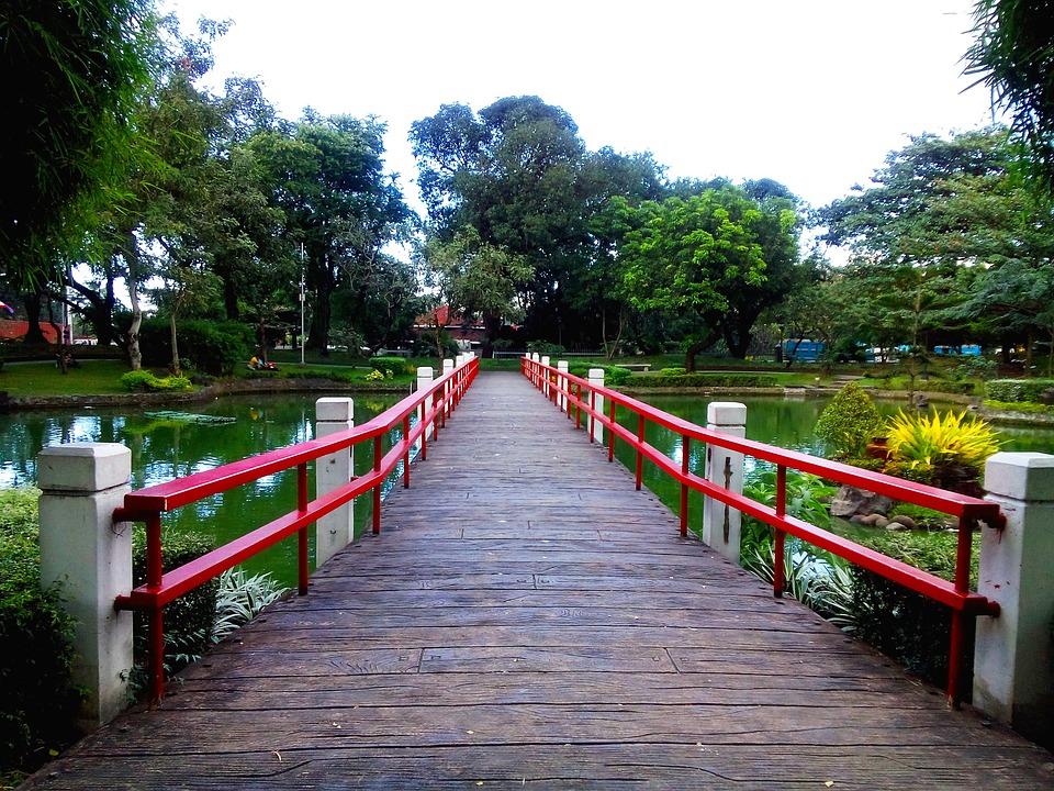 Japanese Garden, Park, Landscape, Japanese, Garden