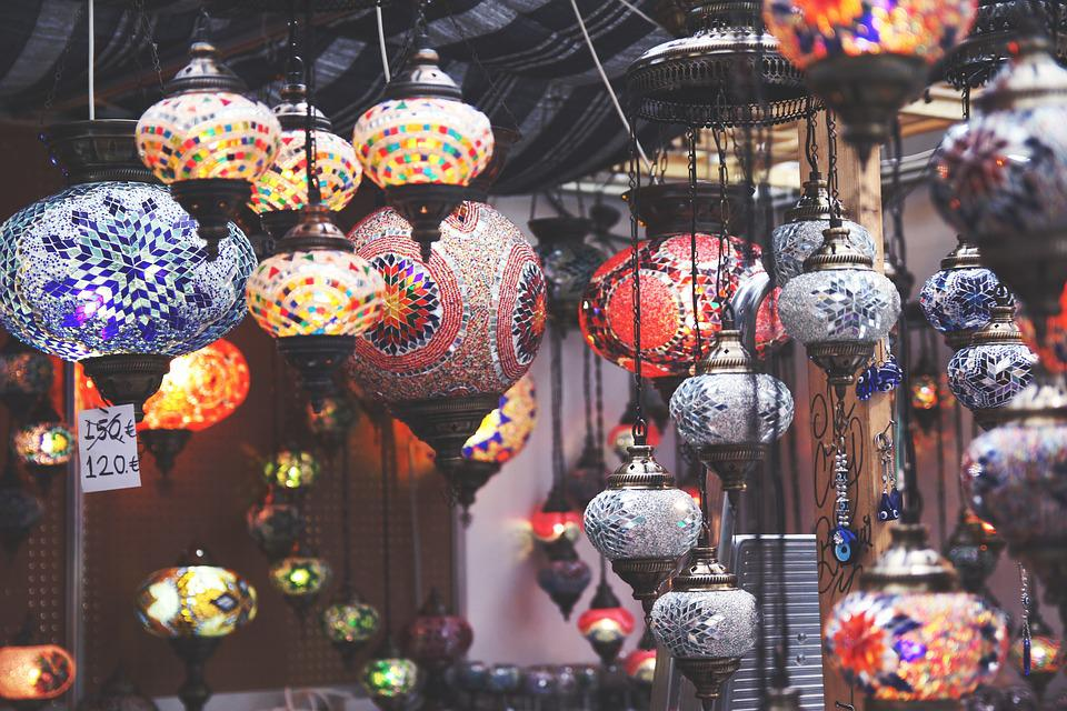 Chinese, Japanese, Lantern, Lights, Oriental