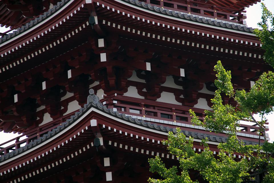 free photo japanese roof decoration ancient temple pagoda max pixel