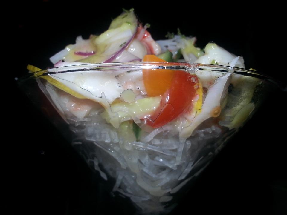 Japanese, Seafood Cocktail, Shrimp
