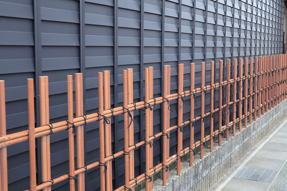 Building, Outer Wall, Japanese Style, Wooden, Fence