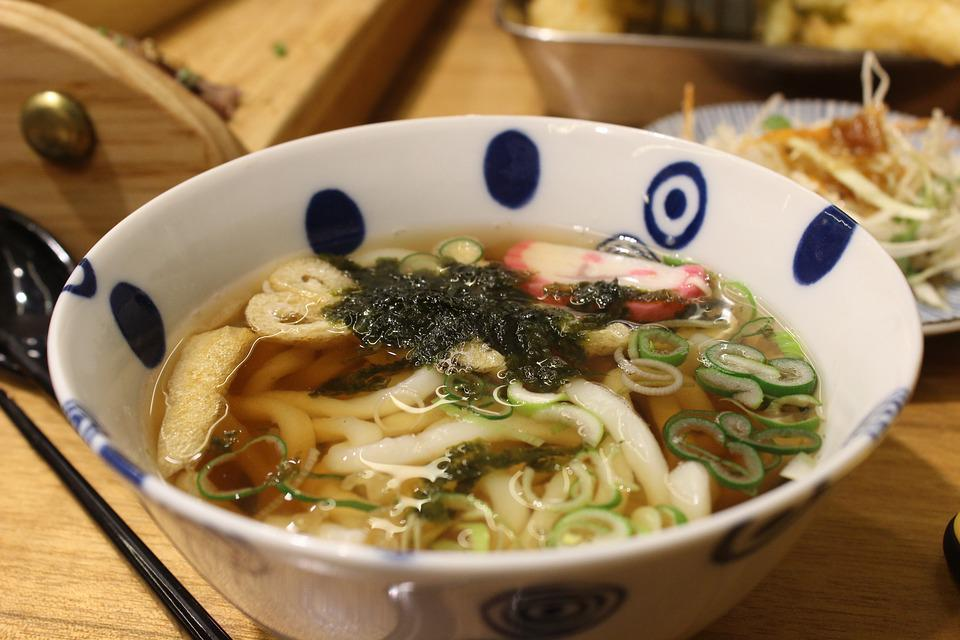Udon Noodles, Japanese, Dining, Cooking, Food, Sushi