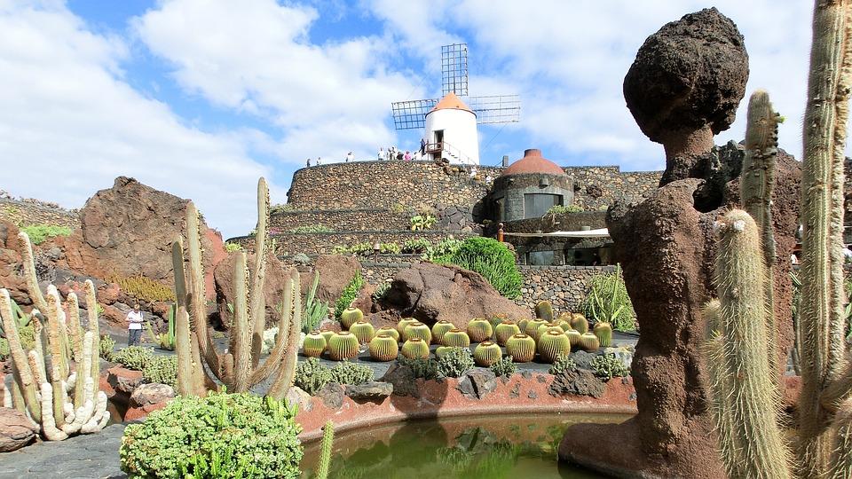 lanzarote jardin de cactus gofiomuehle