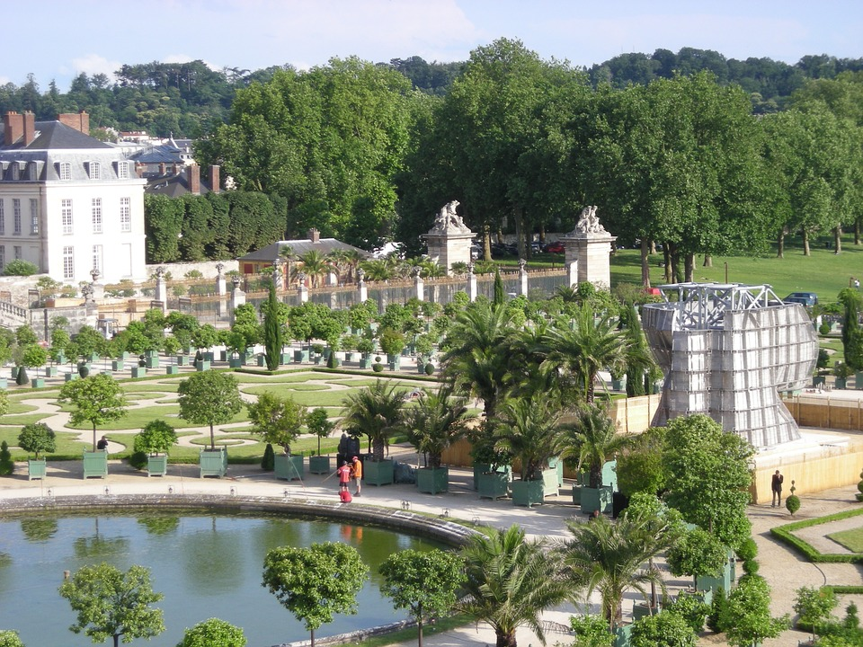 Versailles, Paris, France, Garden, Jardin, Castle