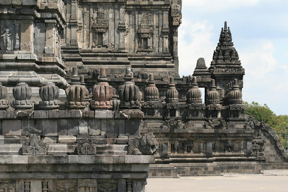 Borubudur, Mahayanaboeddhistische Temple, Java