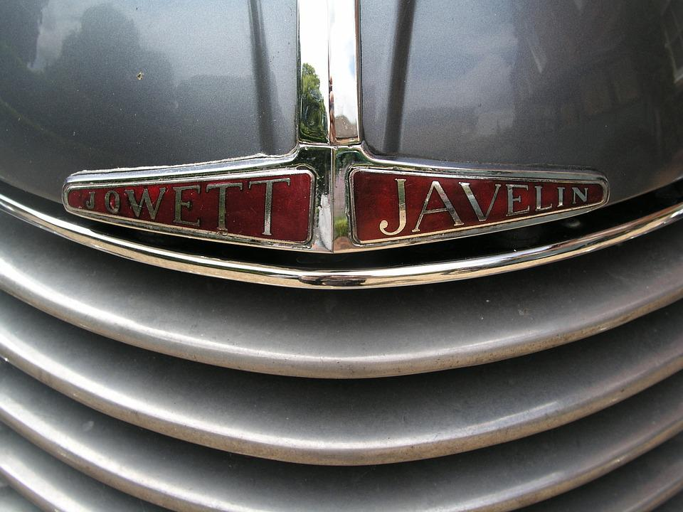 Car Badge, Metal, Emblem, Grill, Javelin