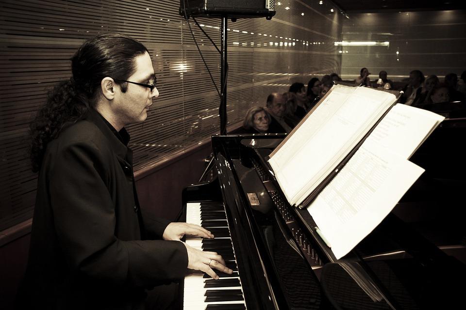 Piano, Playing The Piano, Pianist, Jazz, Improvisacão