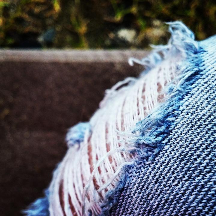 Pants, Jeans, Blue, Blue Jeans, Clothing, Macro, Human