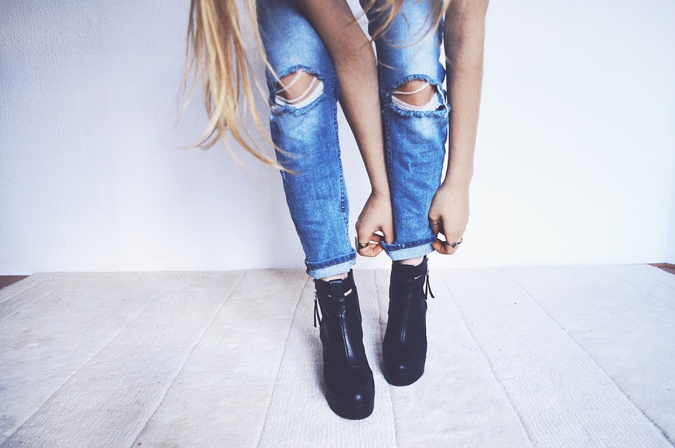 Woman, Girl, Lady, People, Fashion, Style, Jeans, Denim