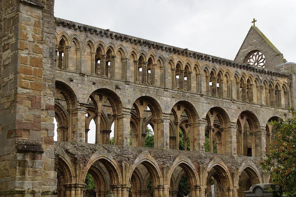 Jedburgh, Scotland, Abbey, Old, Historically, Ruin