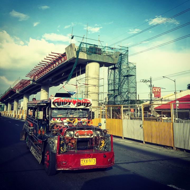 Jeepney, Jeep, Transport, Art, Street Art