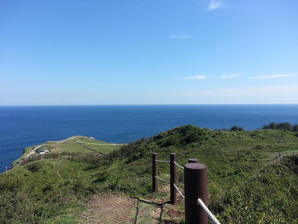Jeju, Sky, Sea