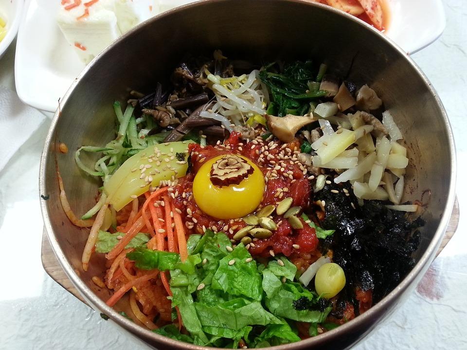 Jeonju, Bibimbap, Meat