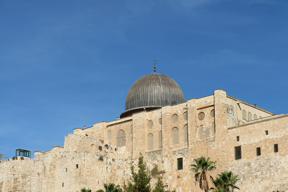 Al-aqsa Mosque, Jerusalem, Israel, Mosque, Religion