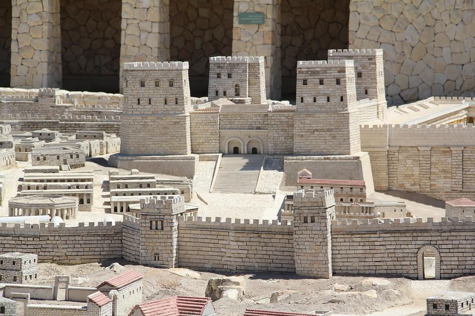 Architecture, Tourism, Israel, Jerusalem Model