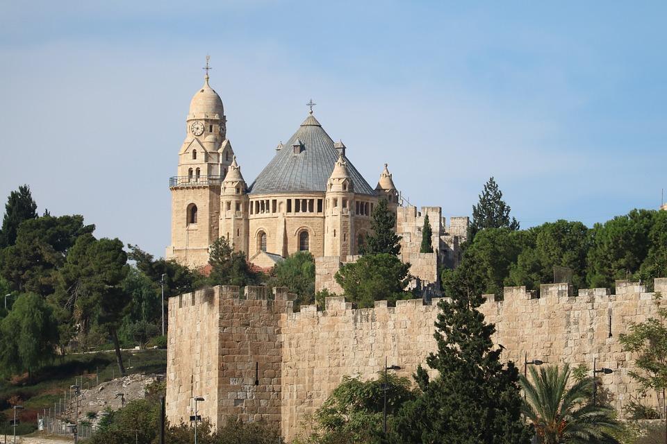 Dormition Abbey, Jerusalem, Dominican, Israel, Monks